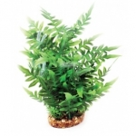 Aqua One Vibrance Green Fern Large Plastic Plant Decor 28208