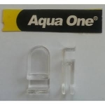 Aqua One AquaNano 60 Bow Glass Cover Clips 56163-C